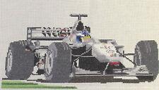 Mansell & Senna, Mika Hakkinen Mclaren, Jensen Button Formula 1 F1 cross stitch