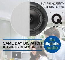 "Q Acoustics Qi65CB 6.5"" Q Install Stereo High Quality Ceiling Speakers"