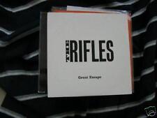 CD Pop The Rifles Great Escape 1T Promo SIXSEVENINE