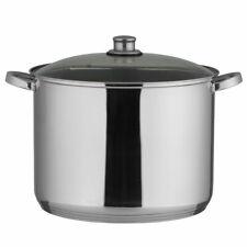Inox Pot Universal 10L 17L 20L Tous Feux Marmite ø24 ø30 ø32 Casserole