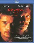 Seven (Blu-ray, 2009 Canadian) Brad Pitt, Morgan Freeman -English & French -MINT