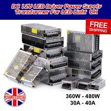 LED Transformer/Power Supply/Adaptor/Driver DC12V 360W-480W DIY Lighting LED