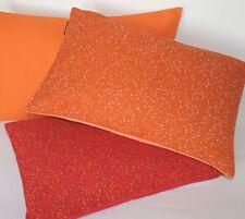 Kissenhülle Kissen Pixy 27x43 Salz Pfeffer Faux-Uni RS Macy orange rot Proflax