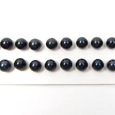 7-7.5mm AAA Grade Loose Japanese Salt Water Akoya Black Pearl 1, 5 or 10 Pairs
