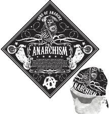 Sons of Anarchy Anarchism Defined Bandana -Crime drama, Kurt Sutter, Jax, Samcro