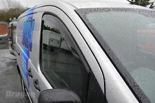 2007 - 2016 Peugeot Expert / Tepee Side Window Wind Rain Deflectors Smoke Shield