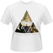 Oficial Pink Floyd-Endless Río triángulo Fotos-Unisex Camiseta Blanca