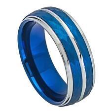 8mm Tungsten Wedding Ring,Personalize Custom Engrave Wedding BandFree Engraving