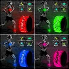 elanox LED Armband Joggen, Fahrrad, Motorrad, Leuchtband, Sicherheitsband