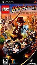 "PSP Indiana Jones 2            ""The Adventure Continues""."