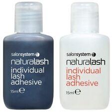 Salon System Semi-Permanent Individual Eyelash Lash Adhesive Clear Black Glue