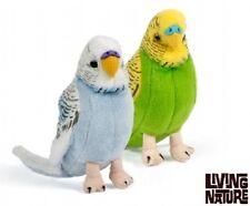 Living Nature budgi/perruche ondulée-Peluche Jouet Doux oiseau Parrott perruches une AN394