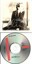 CELINE DION Zora Sourit /Sur Le meme 2 TRX CARD SLEEVE FRENCH CD single LIMITED