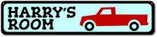 Truck Sign, Custom Truck Lover Sign, Personalized Children Kid Sign ENSA1000115