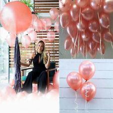 10pcs Rose Gold Helium Wedding Latex Party Wedding Decoration Balloon Set