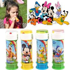 Mickey Mouse Bubble Soap Kids Puzzle Maze Bubbles Party Bag Loot Filler Bobbles