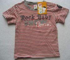MIOBIC Baby Shirt Mehrfarbig gestreift
