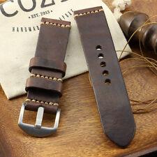 Handmade Vintage 405 Leather Minimalist Watch Strap (18mm, 20mm, 22mm, 24mm)