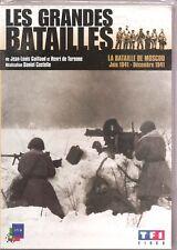 DVD LES GRANDES BATAILLES LA BATAILLE DE MOSCOU