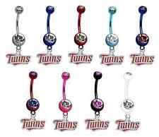 - Pick Your Color - Brand New Minnesota Twins Mlb Baseball Belly Navel Ring