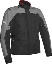 Giacca moto touring adventure Acerbis Discovey Forest nero grigio jacket