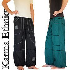Pantalon MIXTE (36 38 40 42 44 46 48 50 52) sarouel ethnique grande taille PA15