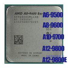 AMD A6-Series A6-9500 A8-9600 A10-9700 A12-9800 9800E Socket AM4 CPU Processor