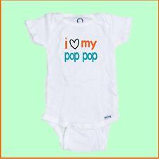 I Love My Pop Pop Baby Onesie Make a great Shower gift