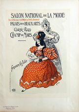 ROEDEL, SALON DE LA MODE. Maîtres de l'Affiche 1900, Planche originale n° 235