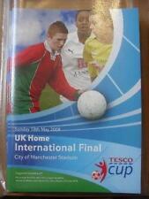 18/05/2008 Tesco International Cup Finals: U13s Boys Cup, U14s Girls Cup, U16s G
