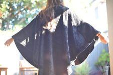 Women Soft Throw Tops Home Wear Poncho