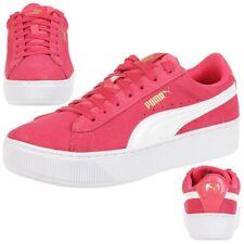Puma Vikky Plataforma Junior Niñas Zapatos Mujer Fucsia 366485 01
