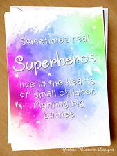 Premature Baby Card Prem NICU New Born Miracle Support SCBU Child Superhero Kid