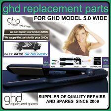 Plancha de pelo ghd original de Reparación/partes compatible para GHD ss 5.0 Oro Ancho