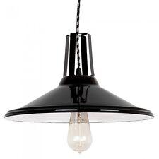 Loft Moderne Lampe à SUSPENSION HAUT BEAU LAMPE 2 variantes lumière acier