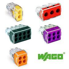 2 3 4 6 8-Way Wago Push Wire Connectors 773-102 773-104 773-106 773-108 773-173