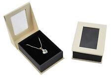 Luxury Dubai Series Pendant Drop Card Hinged Jewellery Gift / Presentation Boxes