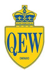 Queen Elizabeth Way Sticker Decal R982 Highway Sign Road Sign Ontario