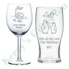 Vetro Inciso Personalizzato Regali San Valentino Amore Regalo Marito Moglie Anniversario