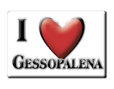 CALAMITA ABRUZZO ITALIA FRIDGE MAGNET MAGNETE SOUVENIR I LOVE GESSOPALENA (CH)