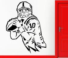 Wall Sticker Vinyl Decal Footaball Sport Quaterback Super Bowl Decor  (z1112)