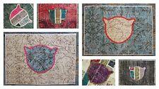 CAT MAT (50*70cm) Vintage handwoven carpet Patchwork Rug Door mat Feed mat
