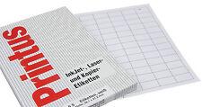 printus Etiquetas Blanco A4 por cada hoja 65 unidades 38,1mm x 21,2mm láser Y