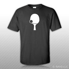 Table Tennis T-Shirt Tee Shirt Gildan S M L XL 2XL 3XL Cottonping pong #1