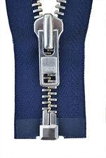 10 YKK Hosenreißverschlüsse hell mittel und dunkel blau 18 cm Gp 0,95 €//Stk
