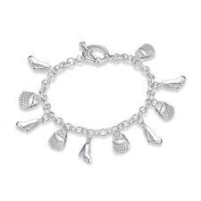 Cute little pendant bracelet Wholesale jewelry 925 silver Fashion Jewelry charm