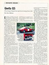 Ginetta G15 - Classic Original Article H54