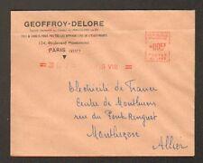 """PARIS (VIII°) FILS & CABLES ELECTRIQUES """"GEOFFROY & DELORE"""" en 1952"""