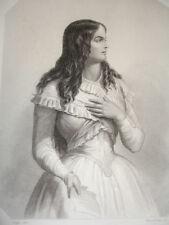 GRAVURE RÉVOLUTION / Mme ROLAND signée Raffet