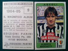 CALCIATORI 1984-85 84-1985 n 9 ASCOLI MARCHETTI - Figurine Sticker Panini NEW